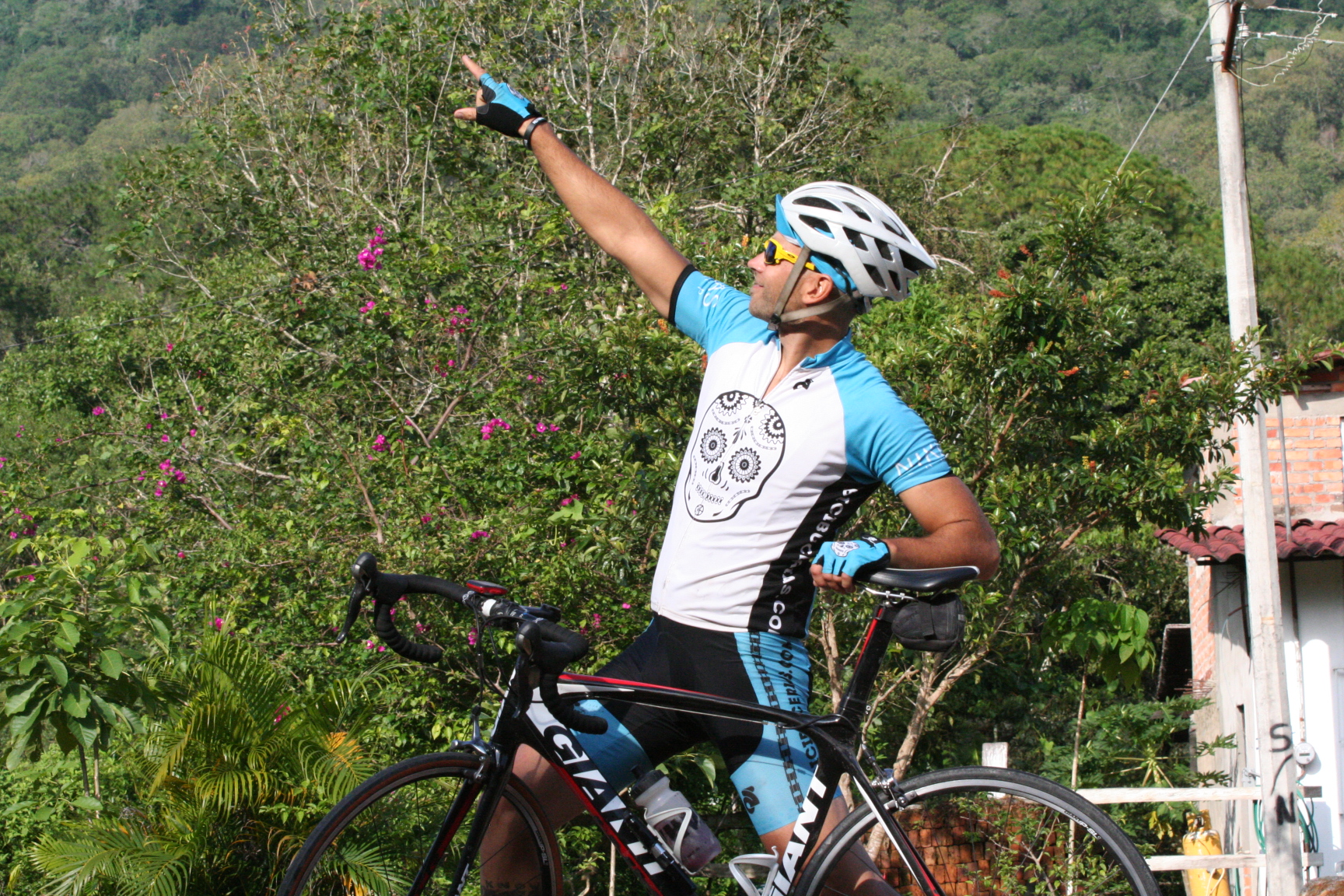 Puerto Vallarta Cycling Vacations - our guides love to have a little fun!