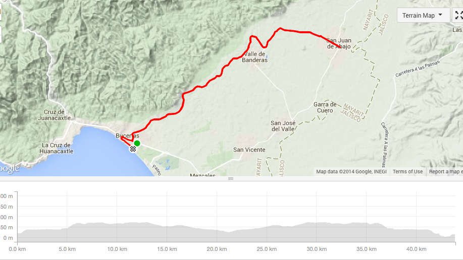 Bucerias and puerto vallarta ROAD bike tour - bucerias to san juan de abajo