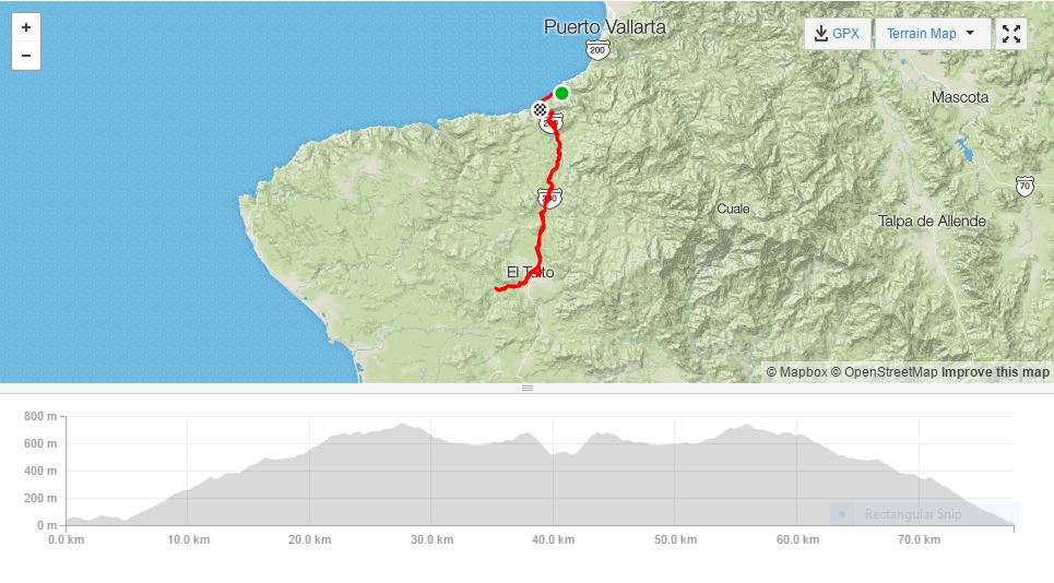 bucerias and puerto vallarta road bike tour - puerto vallarta to el tuito and beyond - epic!