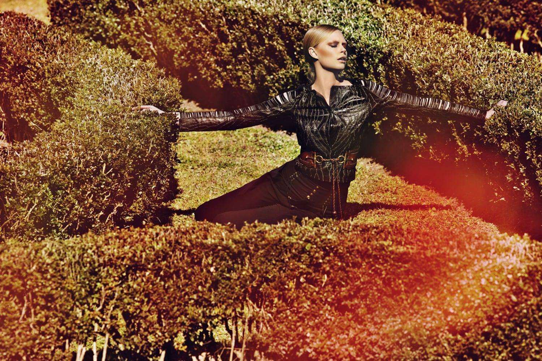 Gucci /report for Harpers Bazaar HK