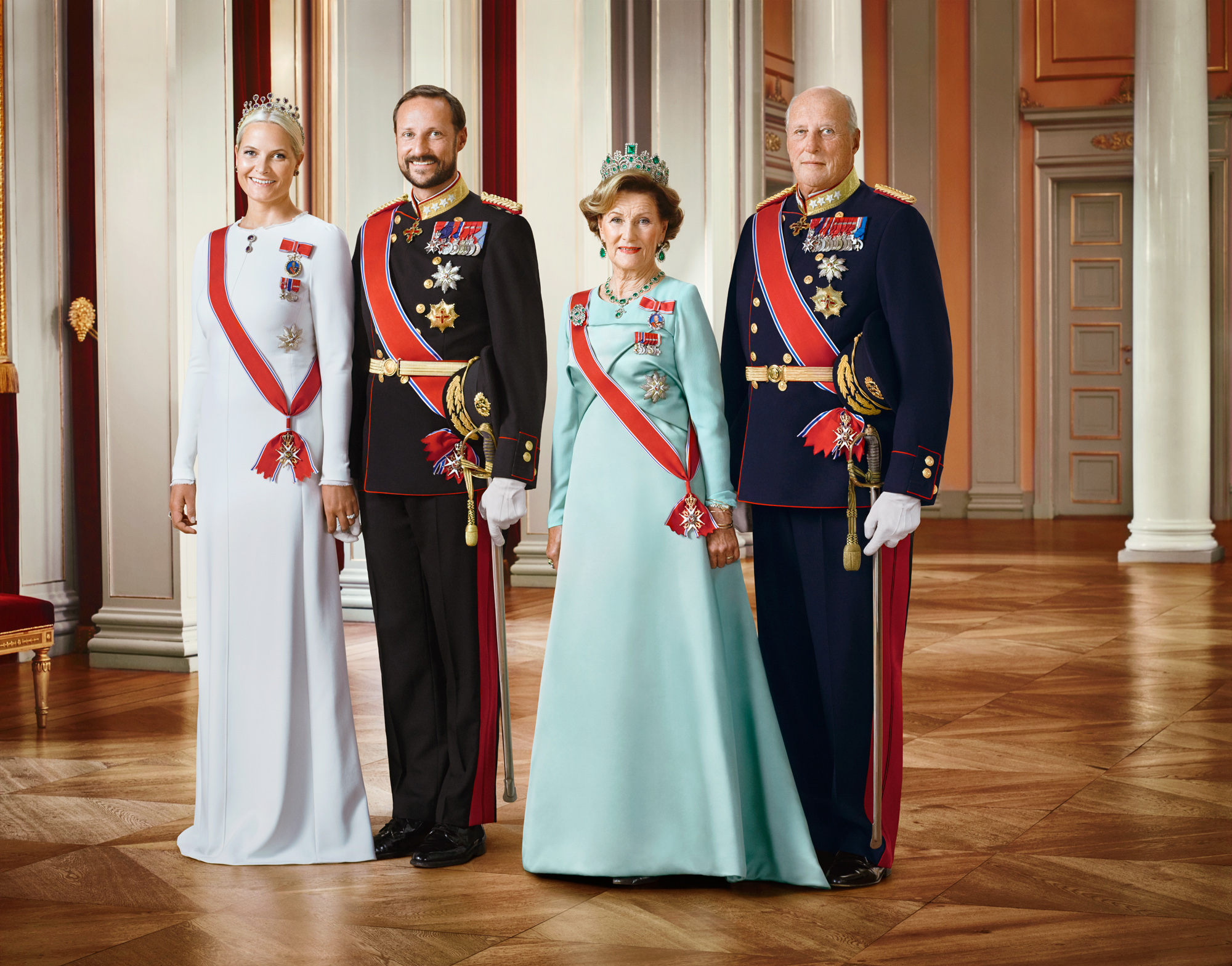 Their Majesties The King and Queen, Their Royal Highnesses The Crown Prince and Crown Princess