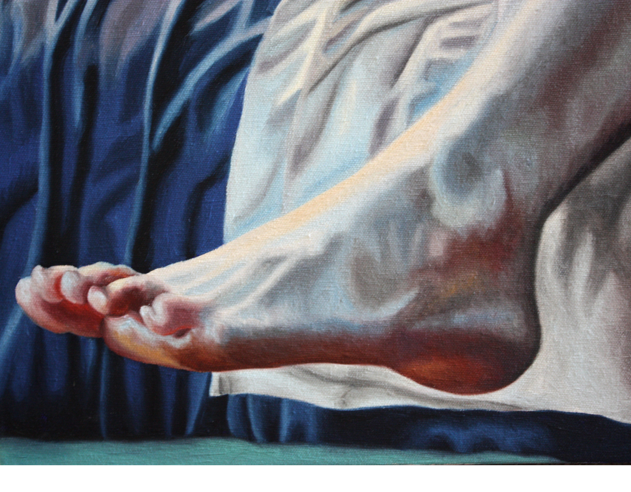 Detail of Tati's foot