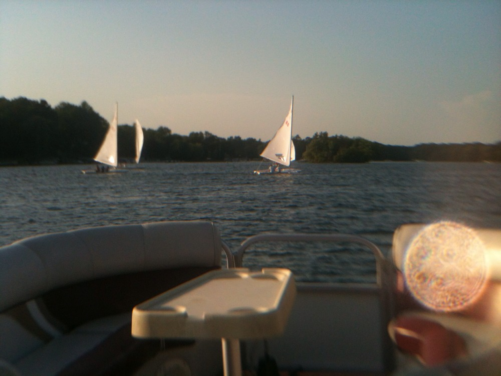 Evening cruise on Lake Beulah ..with my Love ..