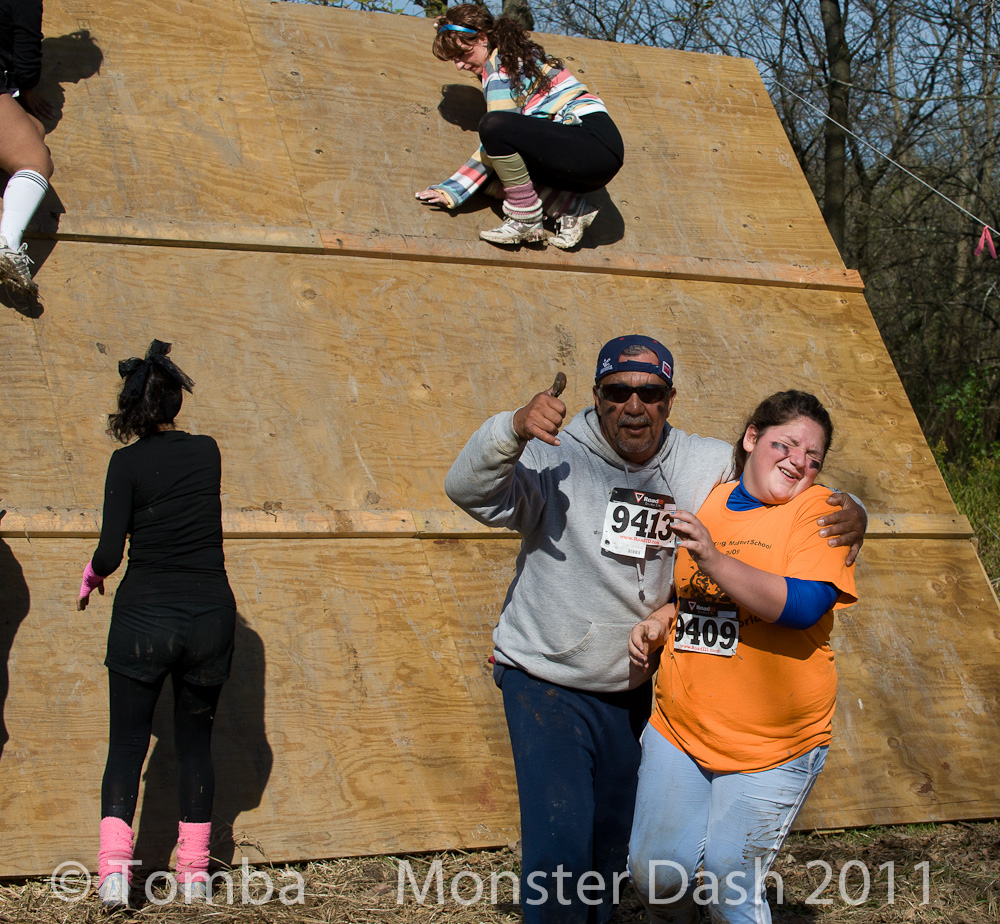 """Muddy Day"" part two at the Monster Dash"