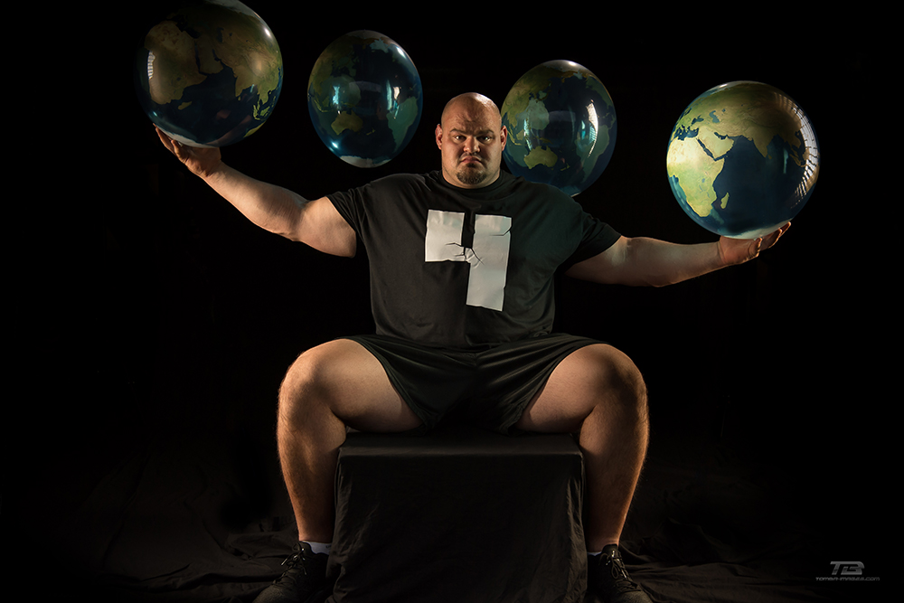 Four time Worlds Strongest Man -Brian Shaw