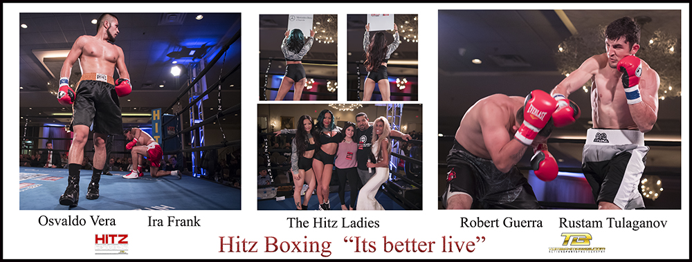Click on the above image to view in Lightbox       Below slide shows are Frank vs Vera , Tulaganov vs Guerra     The Hitz Ladies