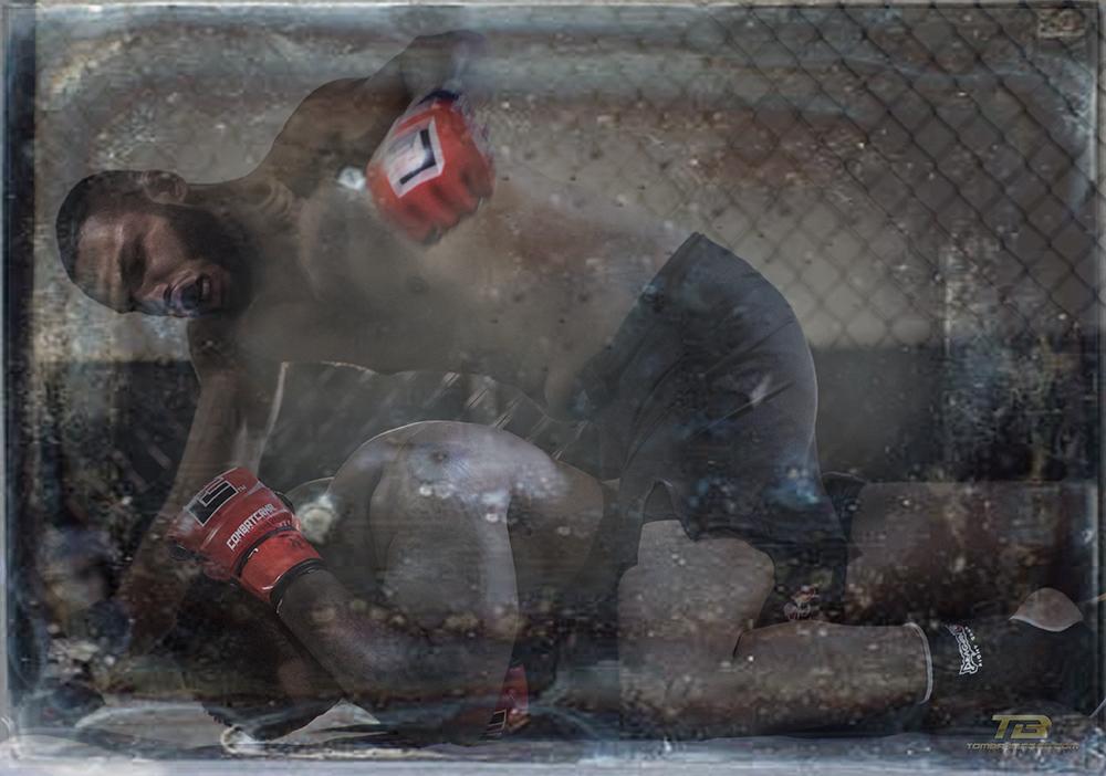 Nate Aleo vs John Jones Art 46  Click on image to view in a lightbox