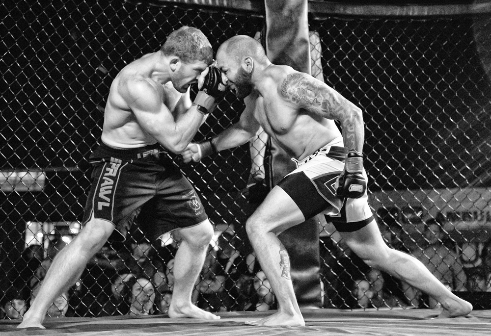 Click on the above image to view full screen.  Below slideshow are a few picks (My favorites) from each of the ten matches , to view the complete Photo Galleries of all images captured on Fight Night, click on the link below the slideshow.