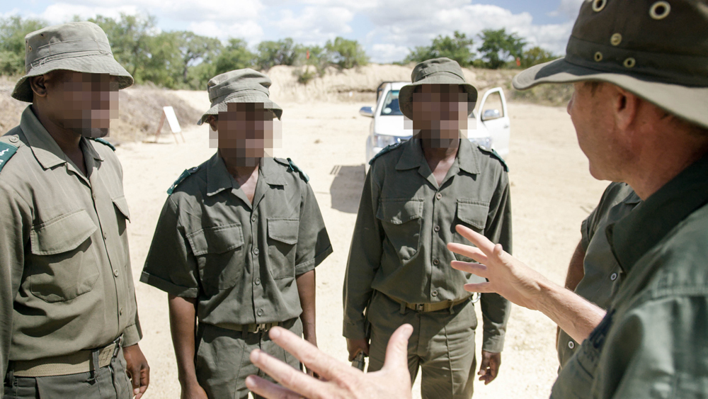 these men are real - as real as the fight they battle every day - true heroes of conservation