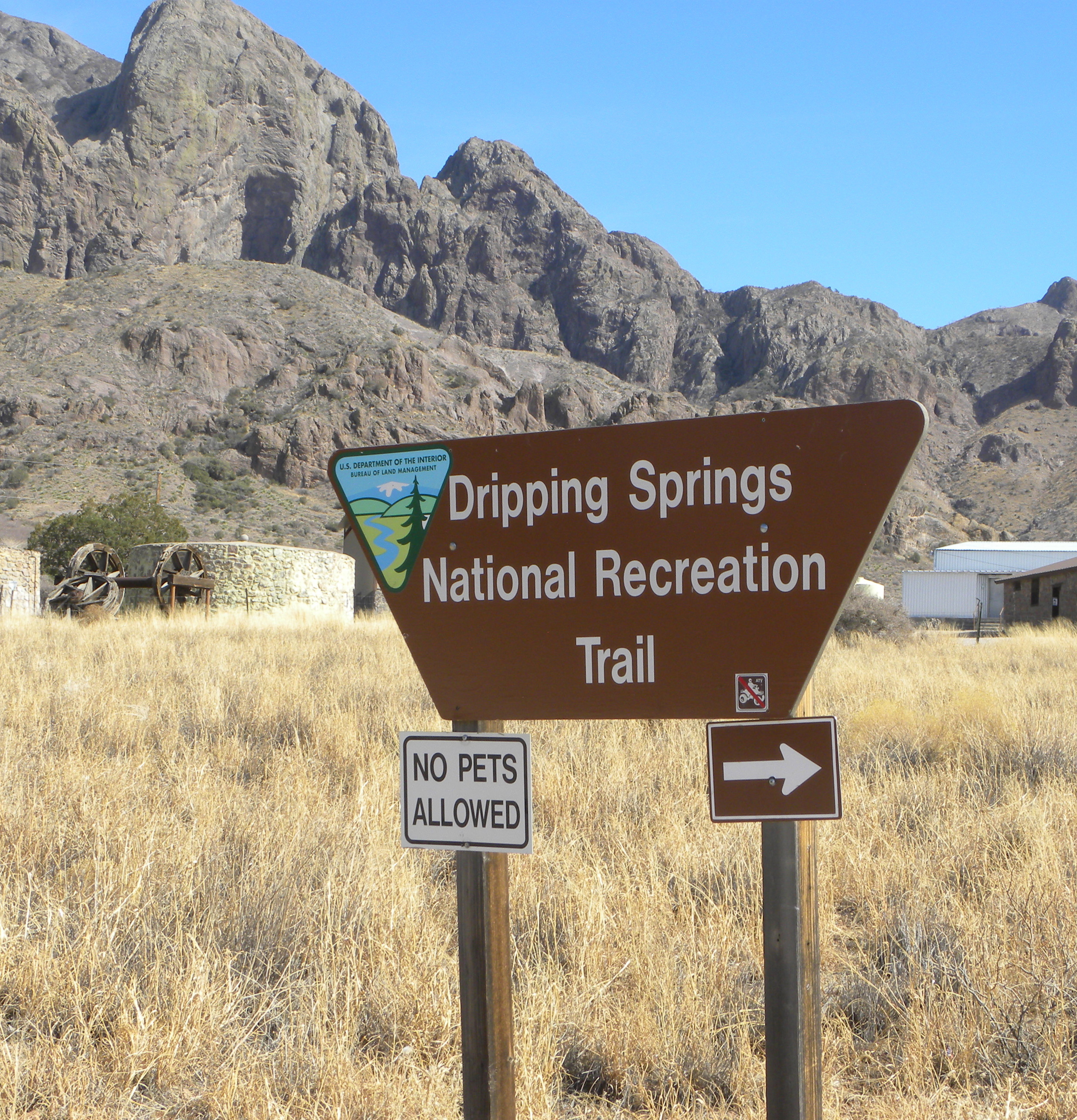 Dripping Springs Trail - Dripping springs Trail Natural Area