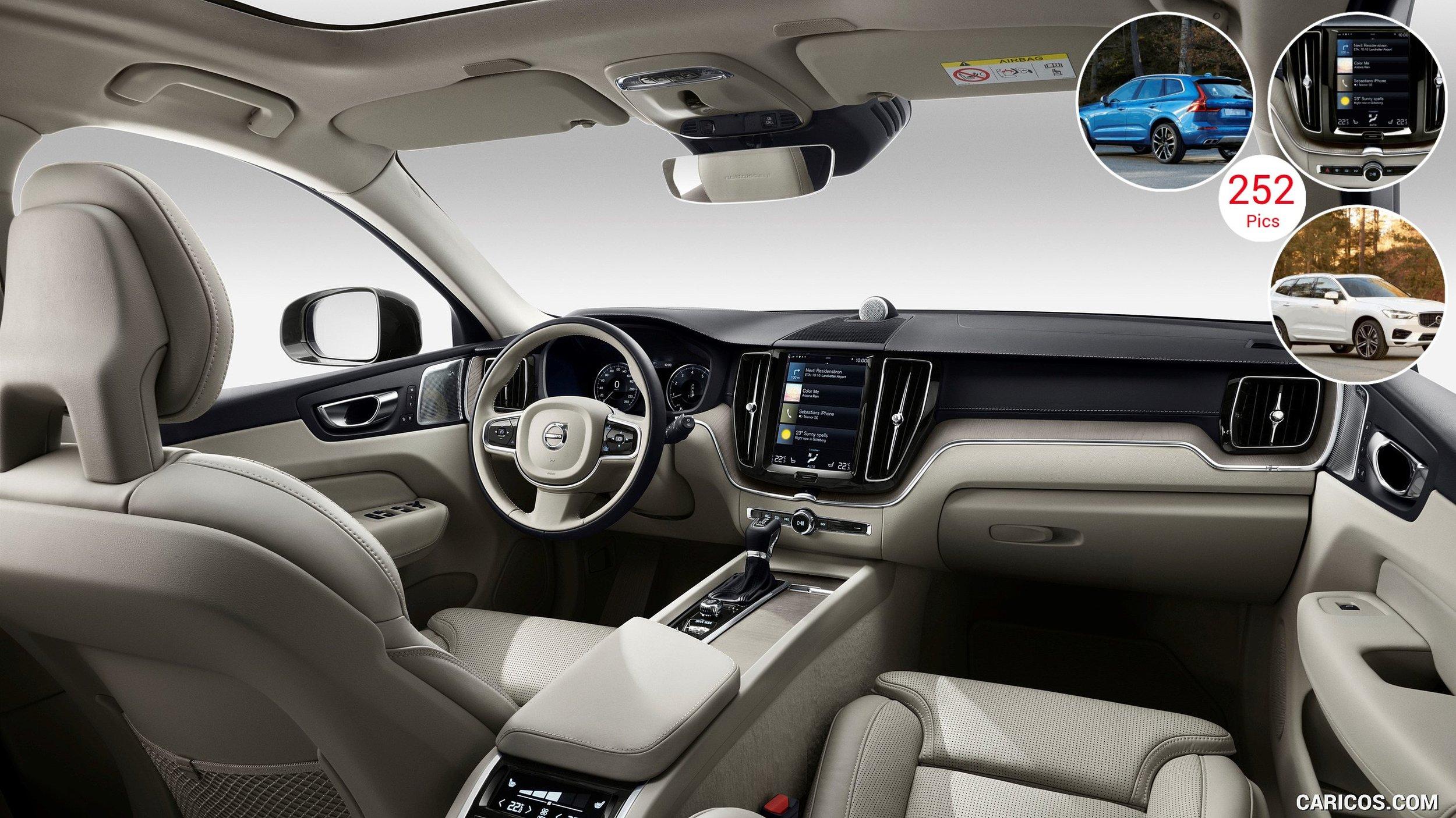 Intérieur du XC60, Volvo