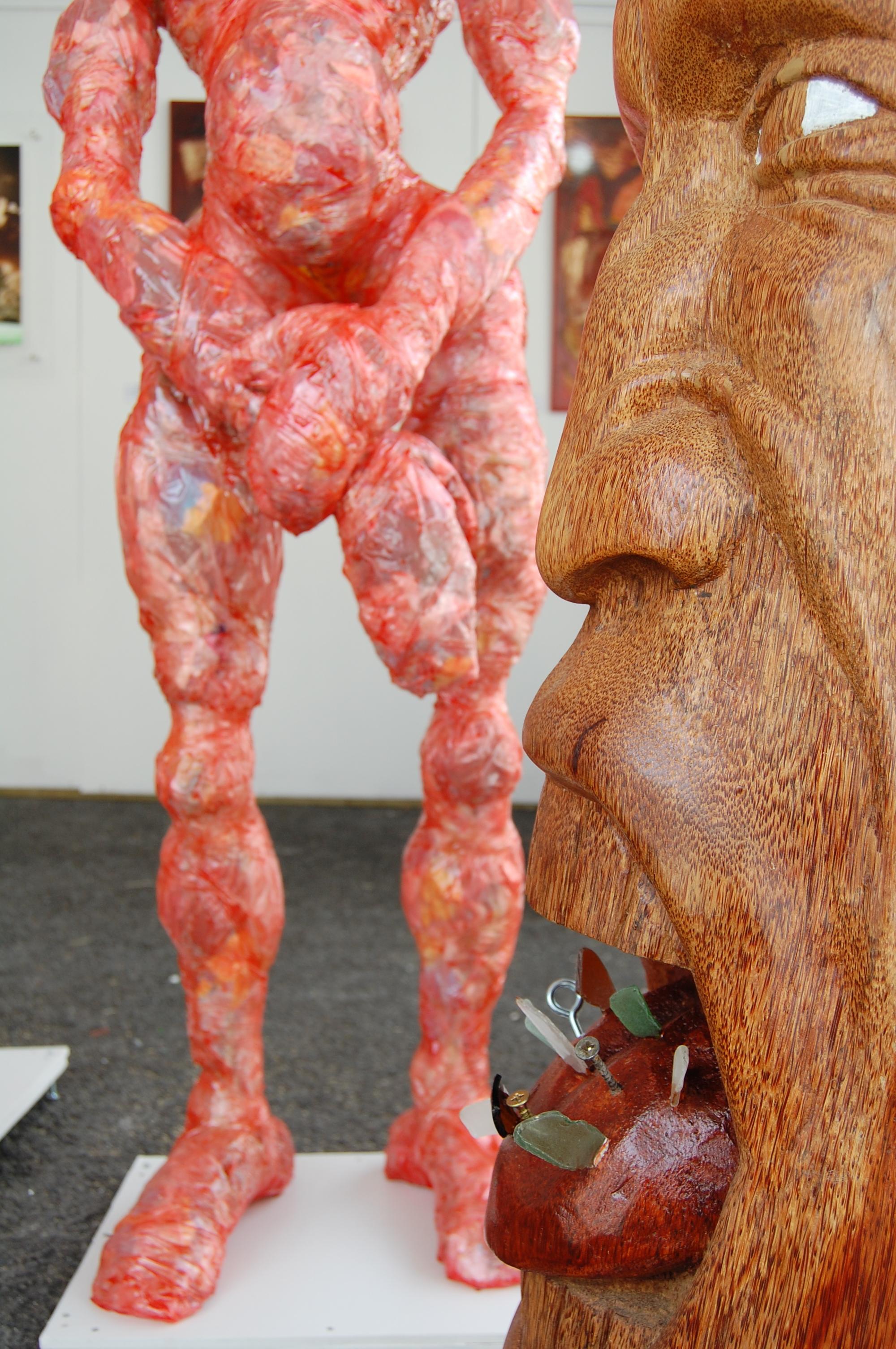 Oeuvres de François Piquet + Jérome Jean-Charles - PooL Art fair Xème édition