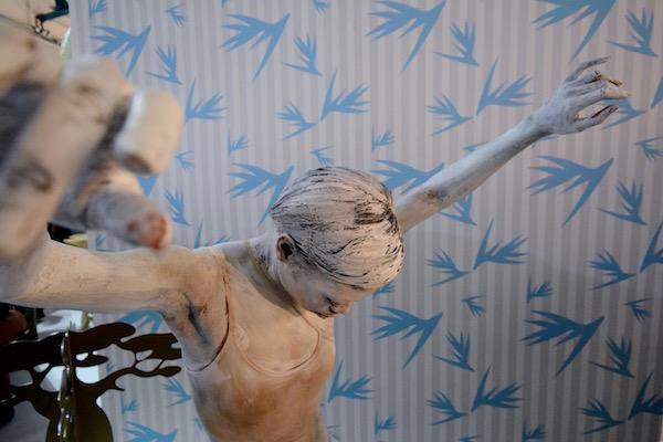 Performance proposée par Artist4Deco sur une idée originale de Diane Hugé.  Performeur : Natty Montella. Bodypainting : Cédric Boucard.
