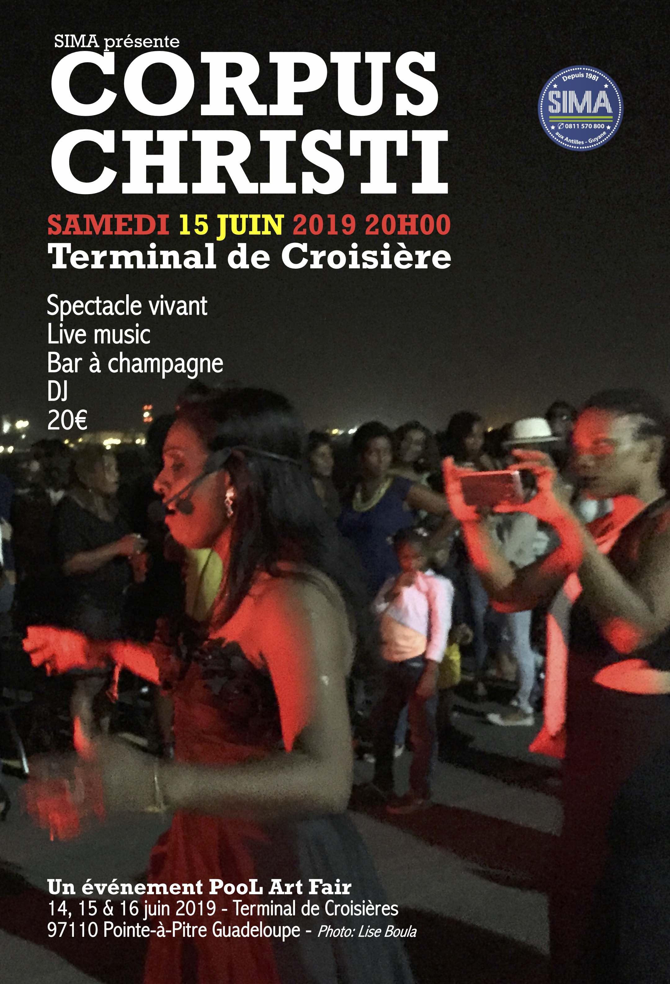 Corpus Christi Samedi 15 juin 20h00