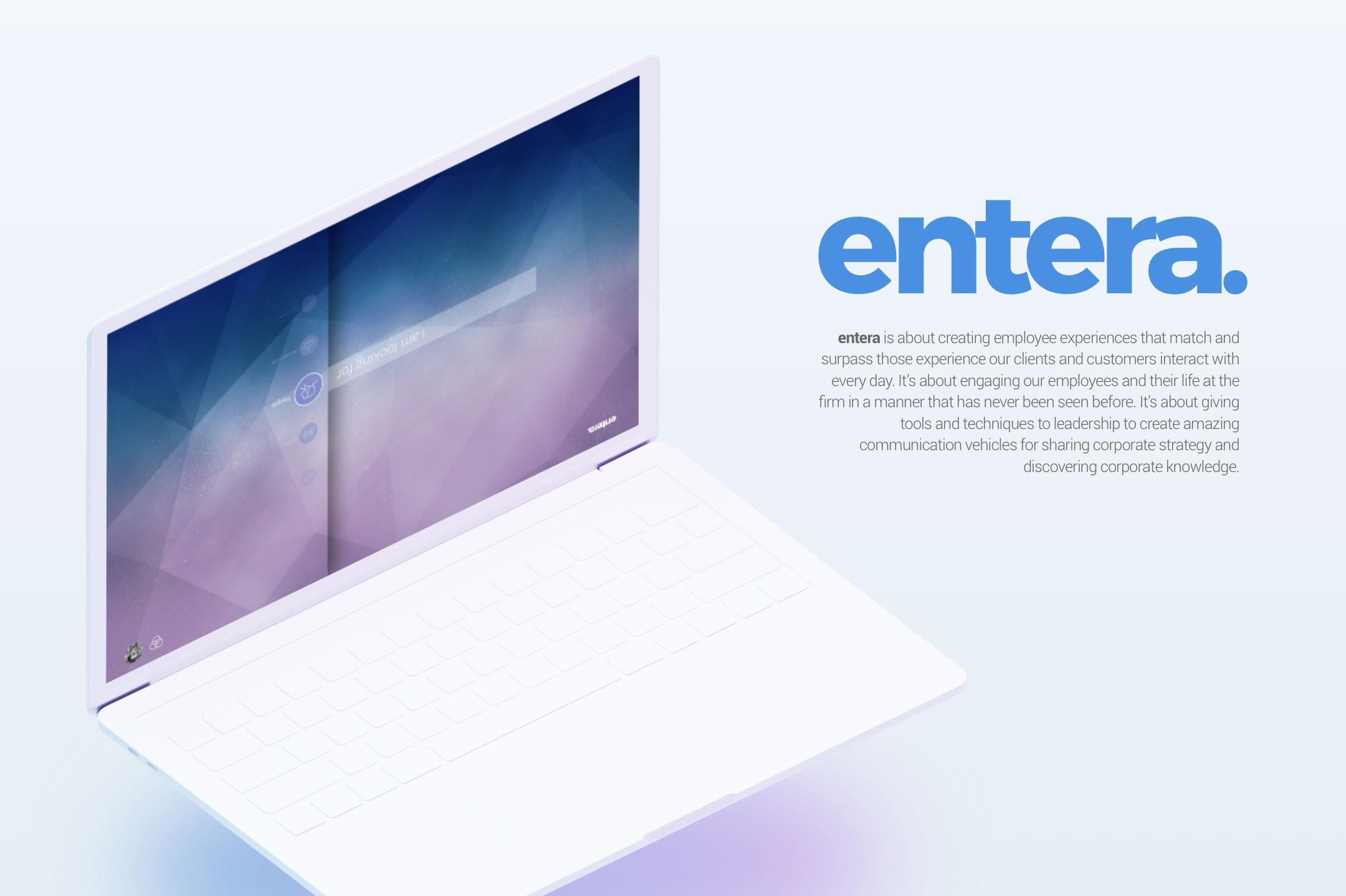 Entera - An intranet for the Enterprise