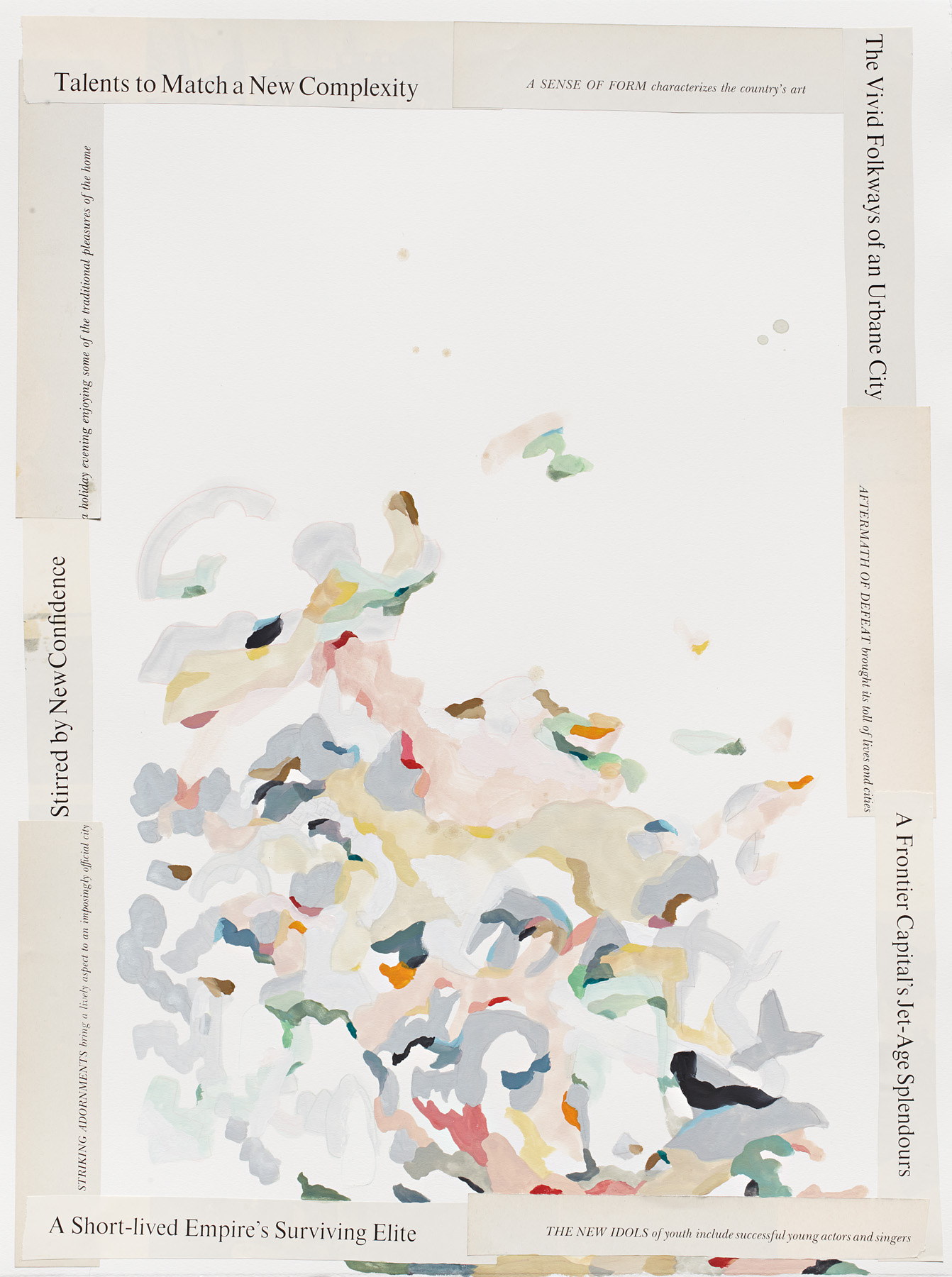 Kate Tucker and Tai Snaith,Collaboration, 2012.