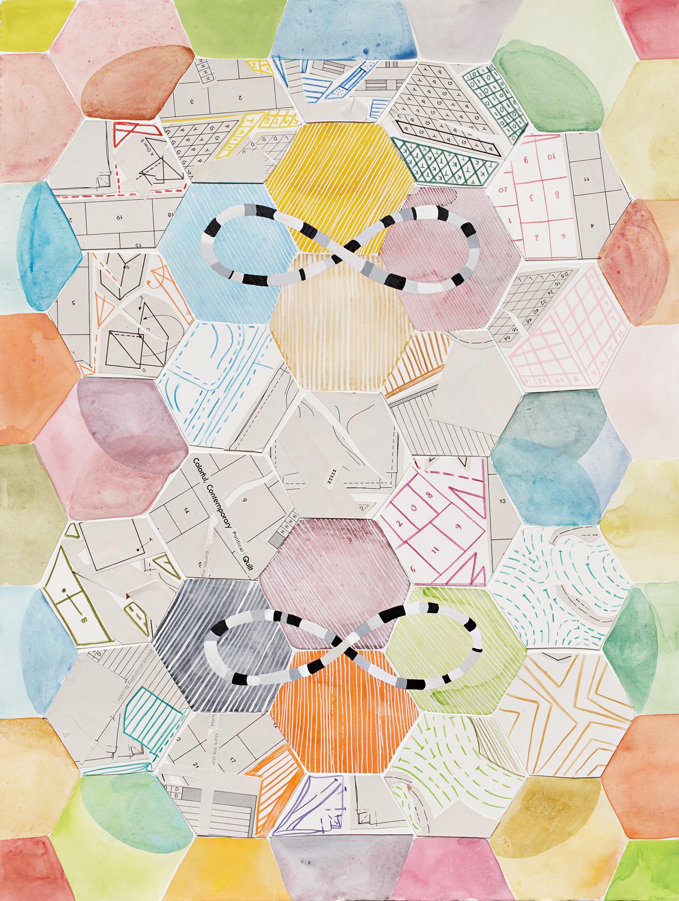 Kate Tucker and Tai Snaith, Collaboration, 2012.