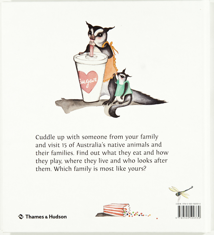 Back cover image, The Family Hour in Australia.
