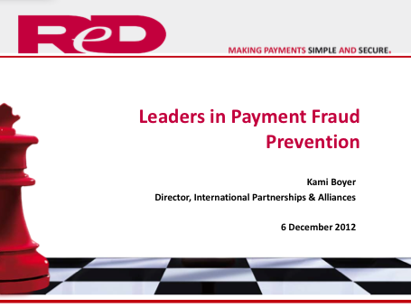 ReD Fraud Solutions - Leaders in Payment Fraud Prevention - Kami Boyer