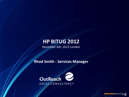 OutReach Sales Consultancy - Rhod Smith
