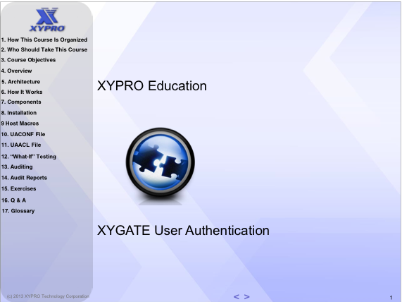 XYGATE User Authentication (XUA)