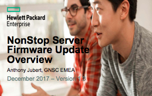 Server Firmware Update - Antony Jubert - HPE