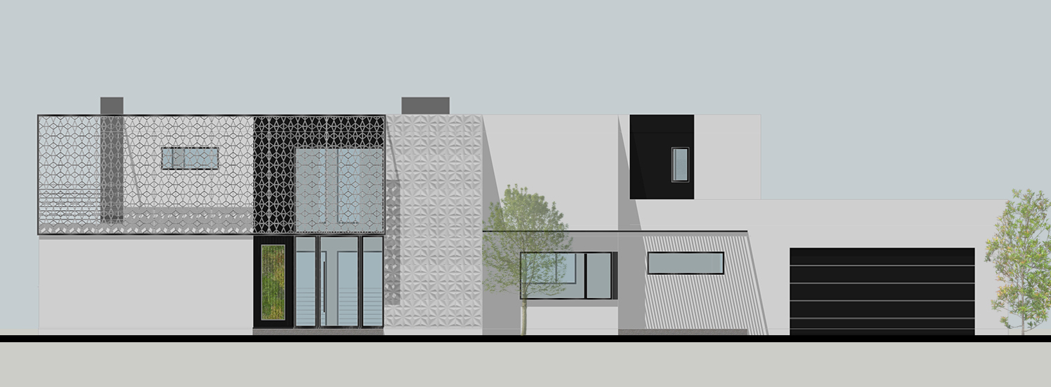 Rendering showing the new exterior facade
