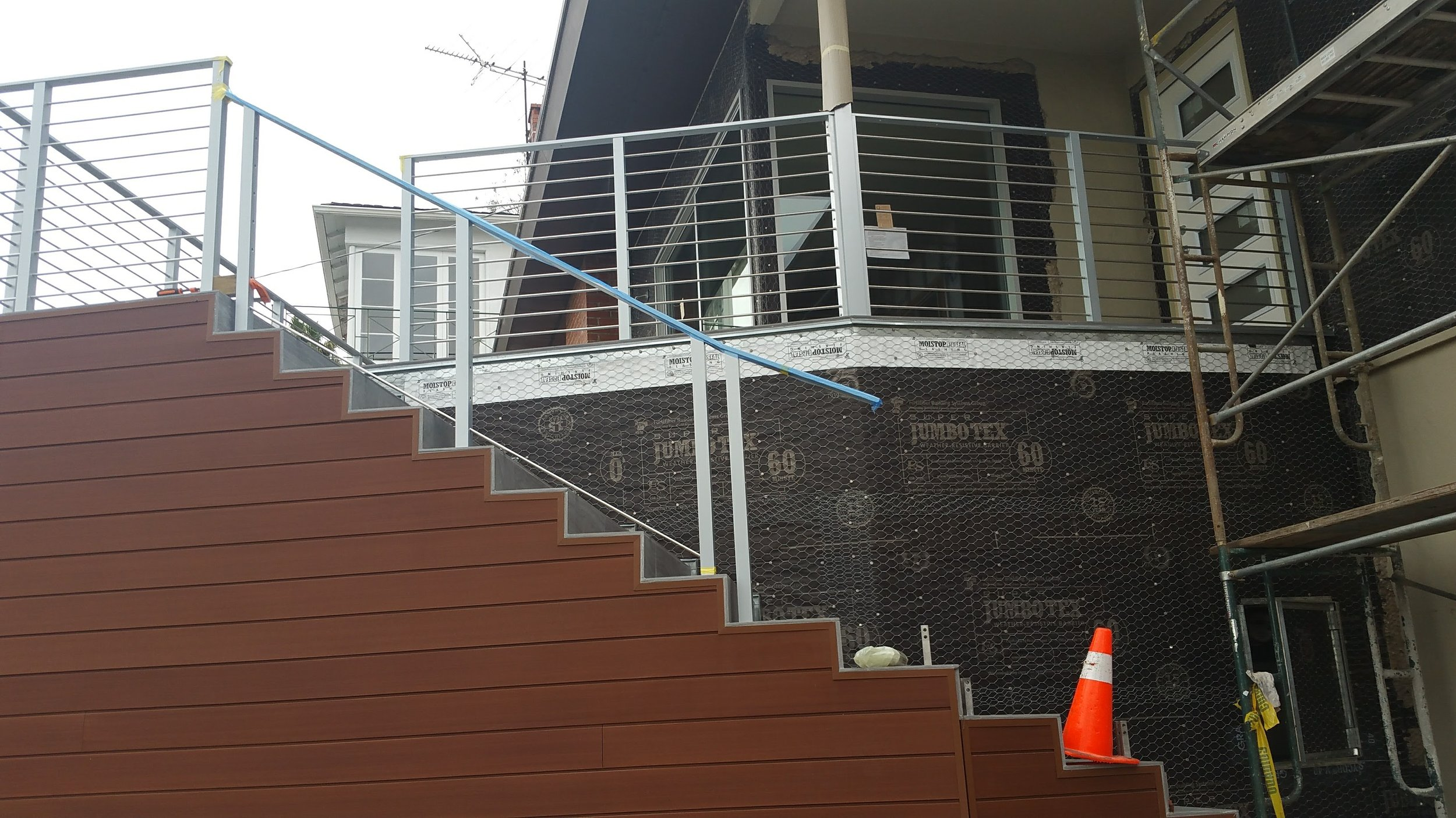 New Resysta composite wood siding