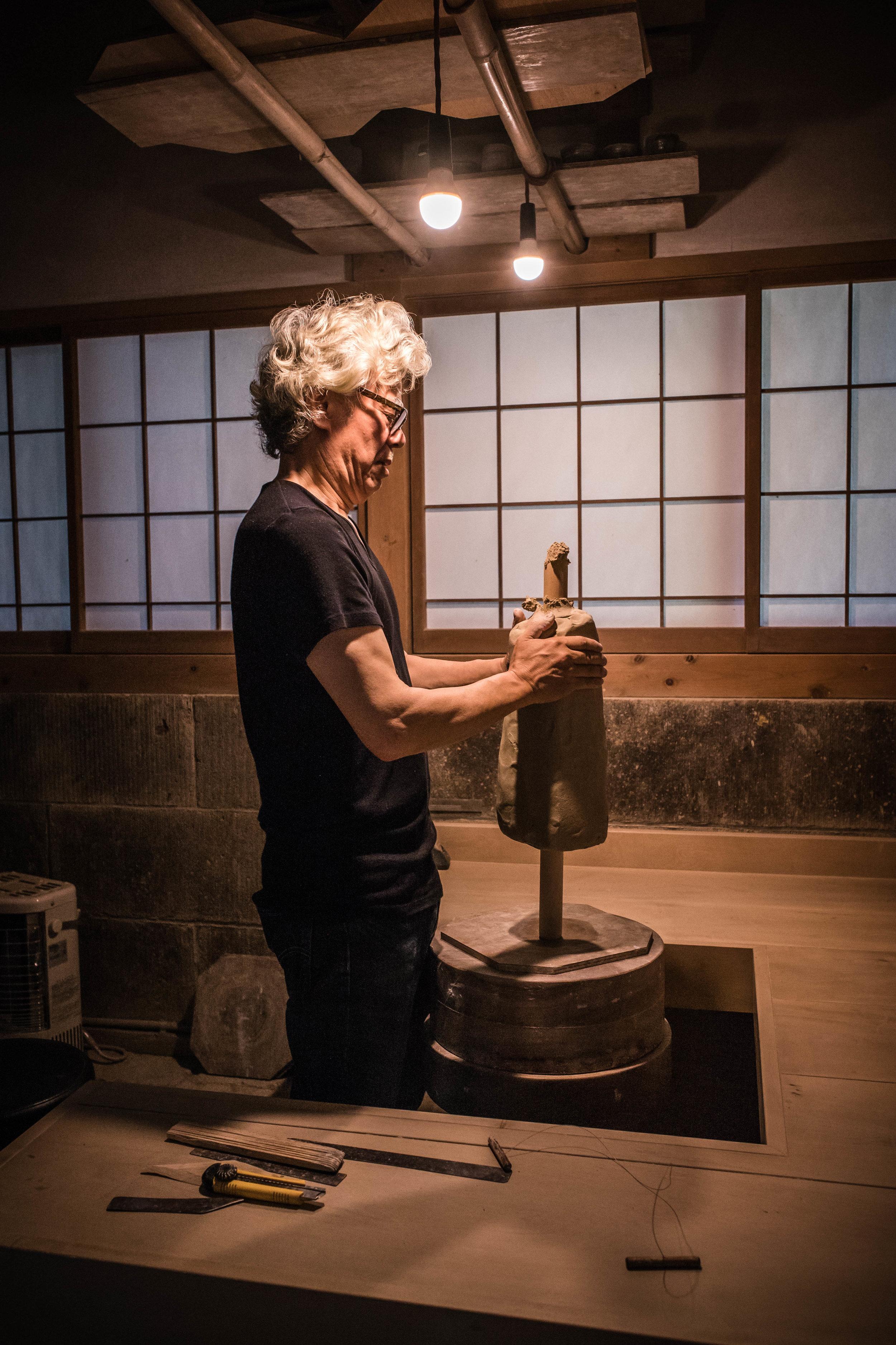 Ken Matsuzaki | the Intangible Spirit - Feature film about Japanese potter for GOLDMARK