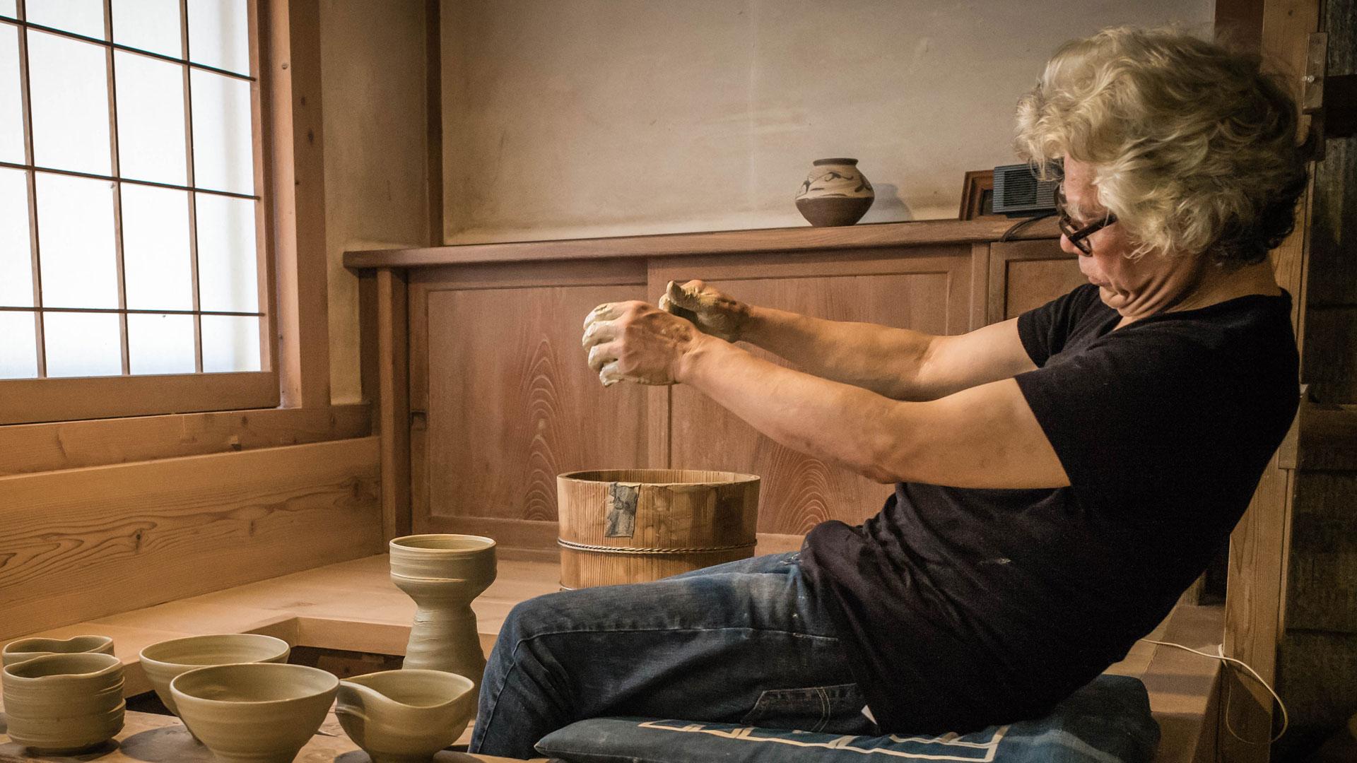 Ken Matsuzaki   the Intangible Spirit - Feature film about Japanese potter for GOLDMARK