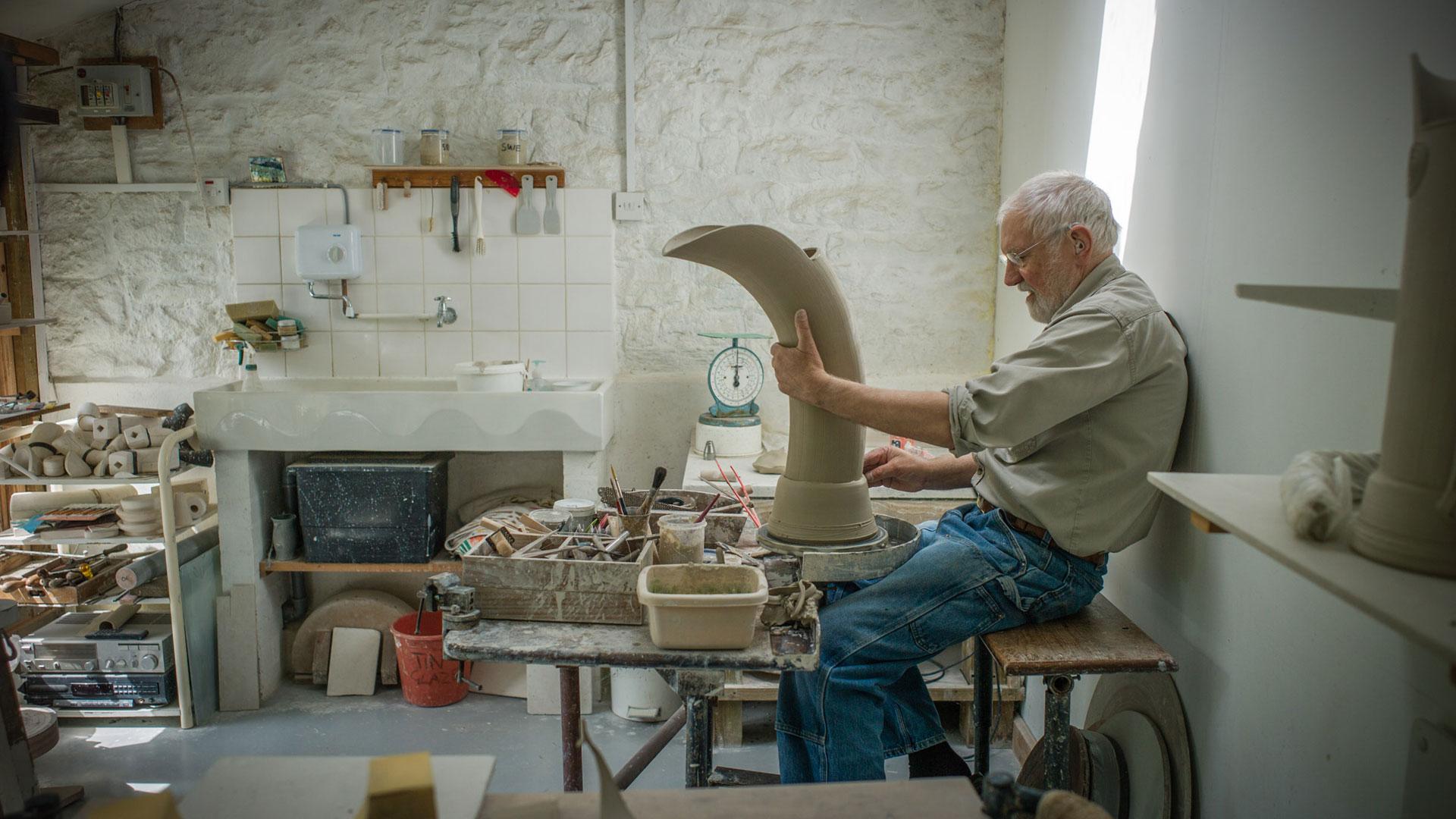 Walter Keeler: Treasures of the Everyday - Documentary film about UK potter   GOLDMARK