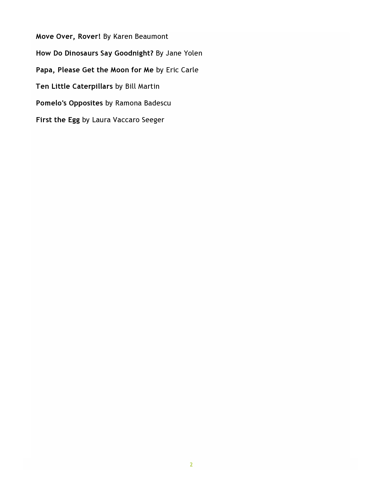 three and four yr page two