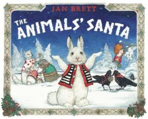 animals santa christmas kids book long enough