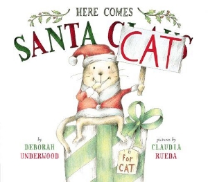 here comes santa cat christmas kids book long enough