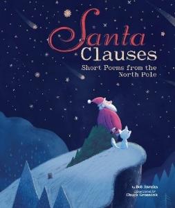 Santa clauses christmas book long enough