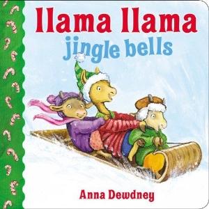 llama jingle bells christmas kids book long enough