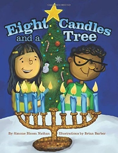 eight candles tree hanukkah kids book long enough