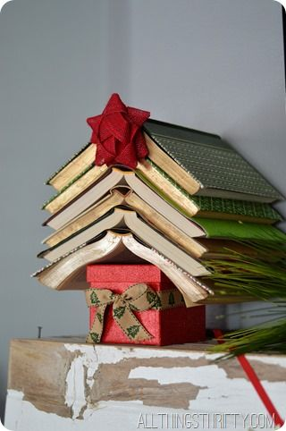 christmas tree tabletop book long enough