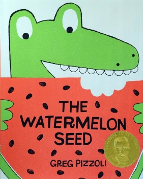 watermelon seed pizzoli two three year old toddler preschool book long enough