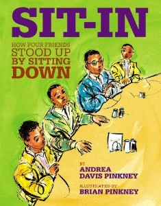 sit-in everyday civil rights heroes kids book long enough