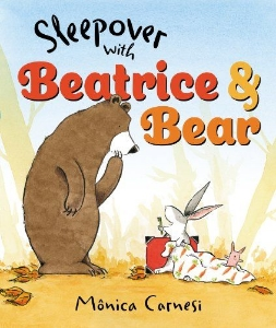 sleepover with beatrice and bear new winter kids picture book long enough
