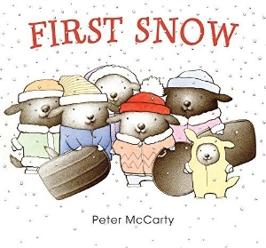 first snow mccarty winter new picture book long enough kids