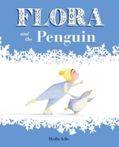 flora and the penguin winter new picture kids book long enough