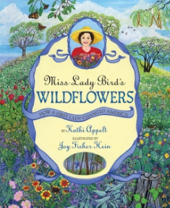 miss lady bird's wildflowers presidents day kids book long enough