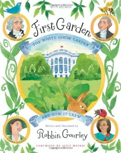first garden white house presidents day kids book long enough
