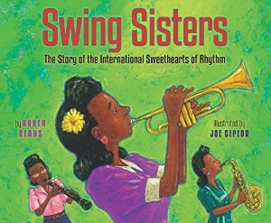 swing sisters african-american black history month kids new 2015 chapter picture books a book long enough