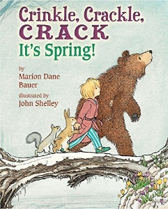 crinkle crackle crack it's spring kids picture books new spring bunnies easter eggs chicks ducklings a book long enough