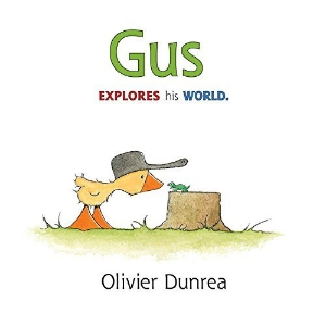 gus explores his world kids picture books new spring bunnies easter eggs chicks ducklings a book long enough