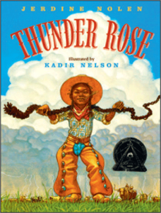 thunder rose kids fairy tales folklore clever strong girls a book long enough