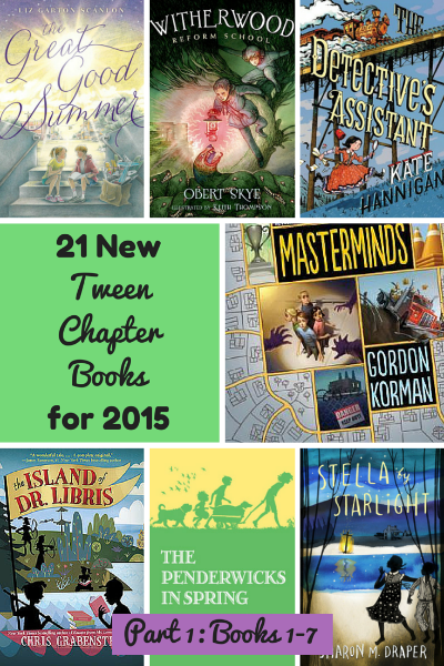 new tween chapter books 2015 part 1